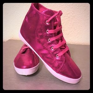 Other - Girls Glittery Pink Shoes